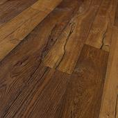 Engineered Wood Flooring Trendtime 8 Classic, oak smoked geb. naturaloil plus elephant skin widepl V-groove, 1739954, 1882x190x15 mm - Sortiment |  Solídne parkety