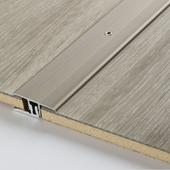 Transition profile in aluminium for vinyl and laminate flooring Stainless steel, floor coverings 7–15 mm, stainless steel, 1740058, 1000x34x0 mm - Sortiment |  Solídne parkety